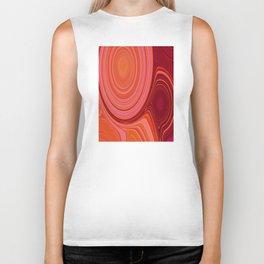 Abstract Creation by Robert S. Lee Biker Tank