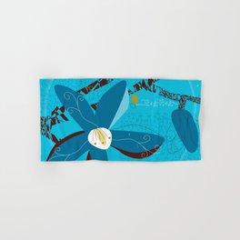 Blue Saucer Magnolia Hand & Bath Towel