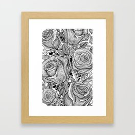 Floraldesign #004 Framed Art Print