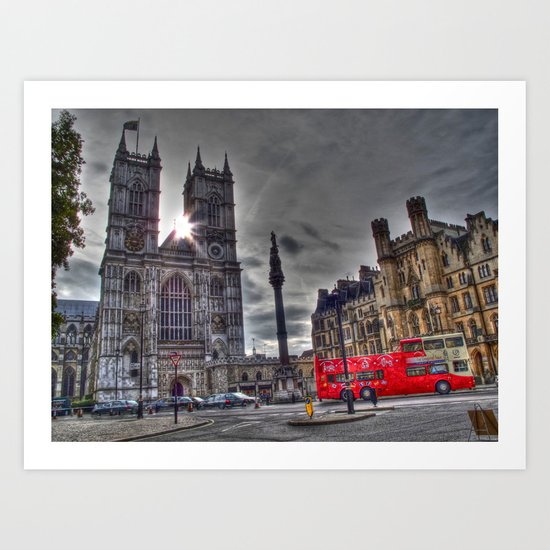 Westminster Abbey  Art Print
