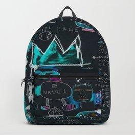 Basquiat Night Backpack