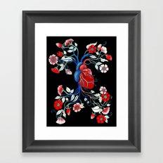 Romantic Anatomy Framed Art Print