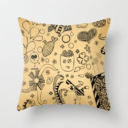 Therapy (: Throw Pillow