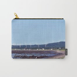 Beach and Wind Turbines Carry-All Pouch