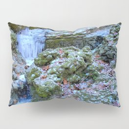 Frozen Cascades Pillow Sham