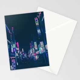 Seoul Nights Stationery Cards