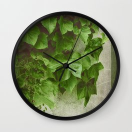 Winter Green Wall Clock