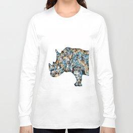 Rhino-no text Long Sleeve T-shirt