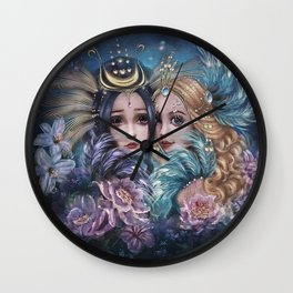 Birds of the Paradise Wall Clock