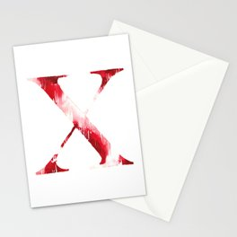 Letterforms X : Xena Stationery Cards