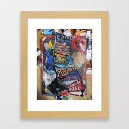 fresno st. of mind Framed Art Print
