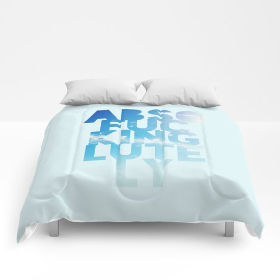 Abso....lutely! Comforters