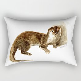 Totem otter: Amblonyx cinerea Rectangular Pillow