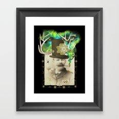 Odd Boxer Framed Art Print