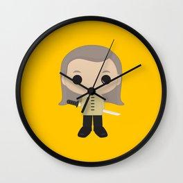 Bill Wall Clock
