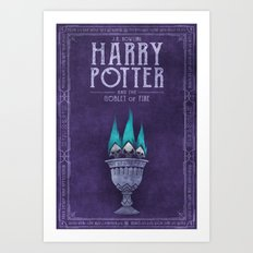 HP Book 4 (Book Cover) Art Print