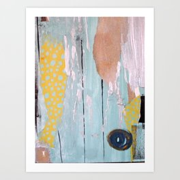 XCUSE Art Print