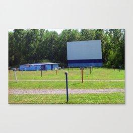 Auburn, NY - Drive-In Theater 2005 Canvas Print