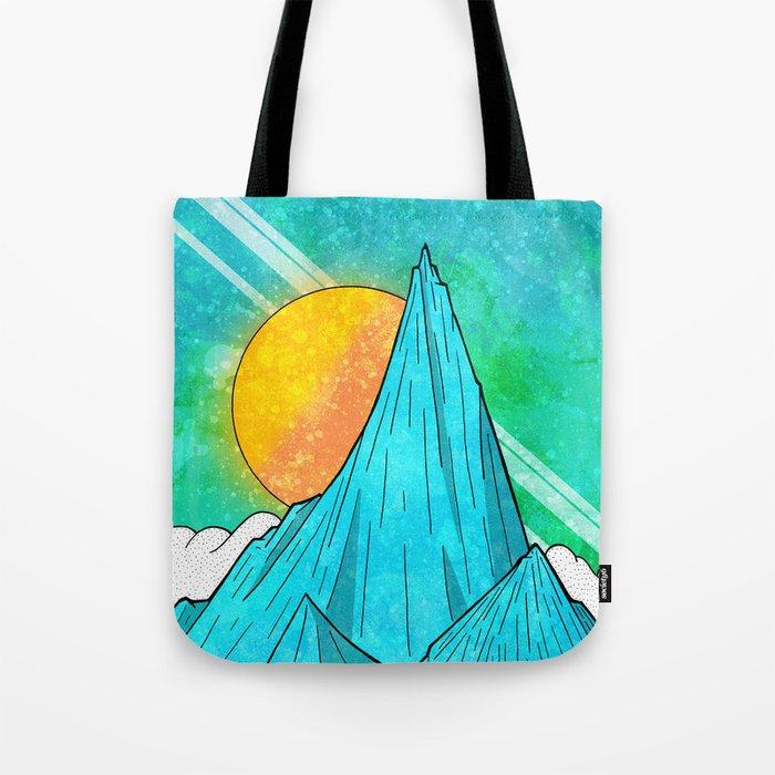 The Highest Peak Tote Bag