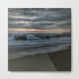 June gloom at Victoria Beach Metal Print