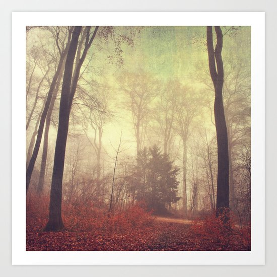 the way out Art Print