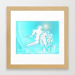 No Distance Framed Art Print