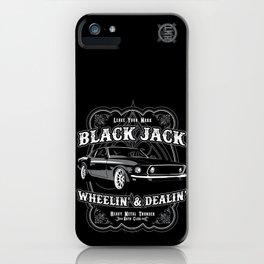 Black Jack iPhone Case