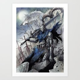 Artorias (Dark Souls) Art Print