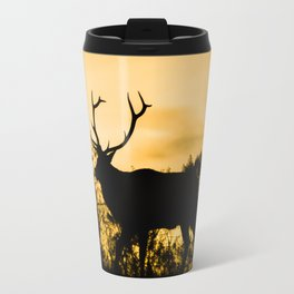 The King at Sunset Travel Mug