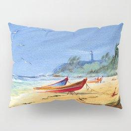 Sudden Storm at Maunabo Beach Puerto Rico Pillow Sham