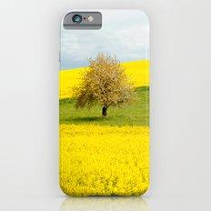 Tree in Yellow Field Slim Case iPhone 6s