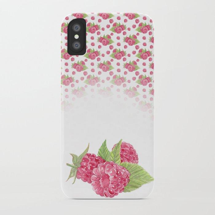 Pinky Raspberry iPhone Case