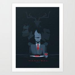 Hannibal series Art Print