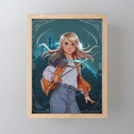 Teenage Knight Framed Mini Art Print