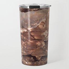 Petrified wood Travel Mug