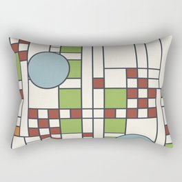Frank lloyd wright pattern S02 Rectangular Pillow