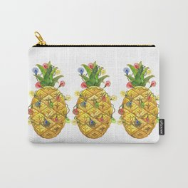 The Christmas Pineapple Carry-All Pouch