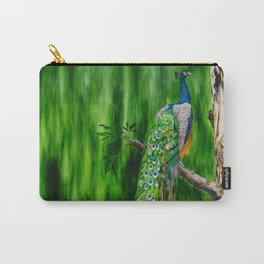 Peacock's Pride by Teresa Thompson Carry-All Pouch
