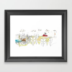 'CANADA' PART 5 OF 10* Framed Art Print