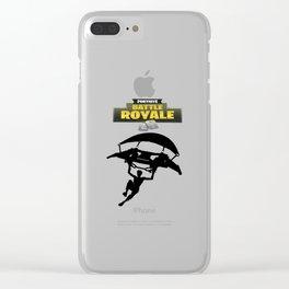 Battle Royale Fortnite Clear iPhone Case