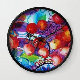 Justine's Joy Wall Clock