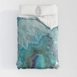 Blue Aqua Agate Comforters