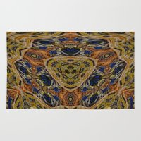 hippy Area & Throw Rugs featuring Hippy by RingWaveArt