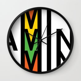 Mi Famine Mine Wall Clock