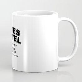 Psycho inspired Bates Motel logo Coffee Mug