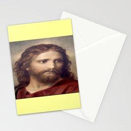 Picture of Jesus I – Henrich hofmann – Portrait of Jesus Stationery Cards
