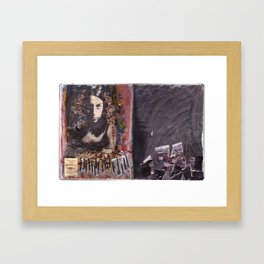 Those You Least Expect Are Just Waiting For A Match Framed Art Print