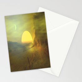 Landscape hike Stationery Cards