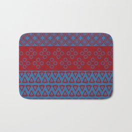 Japanese Style Bohemian Pattern Bath Mat