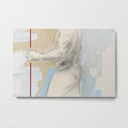 Male Nude Metal Print